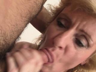 He picks up and fucks blonde mature woman