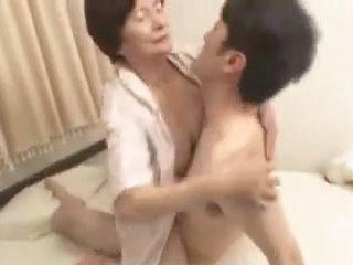Japanese granny mizuki yoshino - scene 3