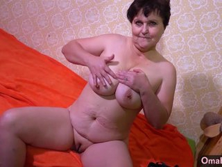 OMAHOTEL Mature BBW grannies striptease compilation