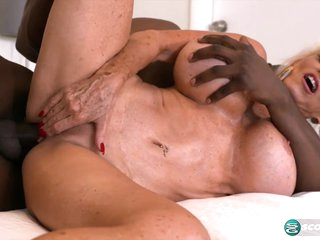 More big, black cock for super-stacked Sally - 60PlusMilfs