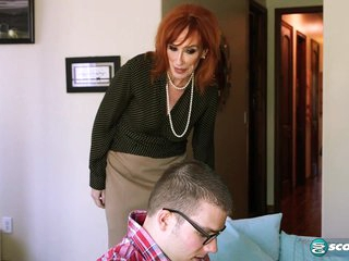 The guy fucking Diamond is young enough to be her son - 60PlusMilfs