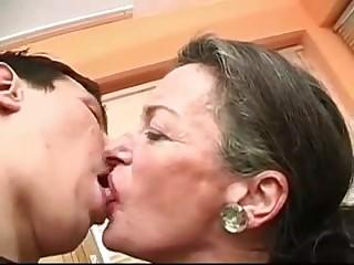 Granny has a fresh Boyfriend