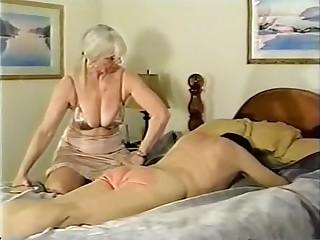 Hottest amateur Grannies, Spanking sex scene