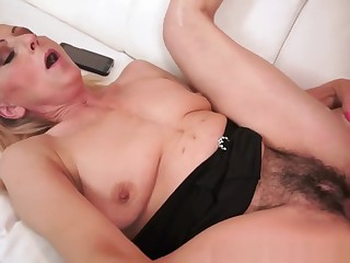Mature Granny Gets Railed