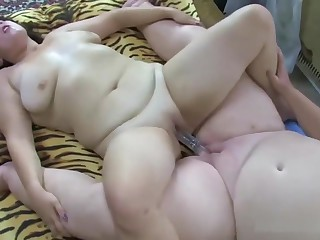 Fat Grandma Gets Pleasured By A Bbw