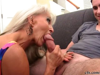 Sally Gives Grandson Some Pussy