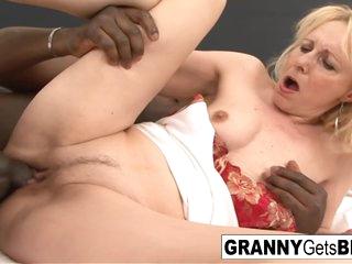 Granny Gets Interracially Dicked Down - Ko Ko