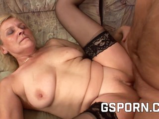 Whore Granny Want A Big Cock For Her Tight Pussy